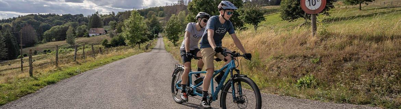 Vélo Électrique en Tandem - Bo Biclou